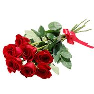 """""""7 red roses"""" in the online flower shop roza.zp.ua"""