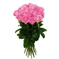 """Bouquet of 19 pink roses"" in the online flower shop roza.zp.ua"
