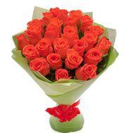 """25 orange roses"" in the online flower shop roza.zp.ua"