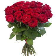 31 алая роза - цветы и букеты на roza.zp.ua