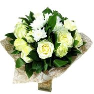 """""""Bouquet in white tones"""" in the online flower shop roza.zp.ua"""