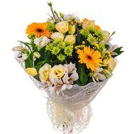 """Bouquet of gerberas, caucasus, chrysanthemums and alstroemerias"" in the online flower shop roza.zp.ua"