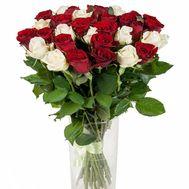 29 красных роз - цветы и букеты на roza.zp.ua