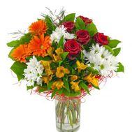 """Beautiful bouquet of mixes"" in the online flower shop roza.zp.ua"