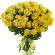 """Bouquet of 51 yellow roses"" in the online flower shop roza.zp.ua"