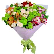 """Juicy bouquet of mixes"" in the online flower shop roza.zp.ua"
