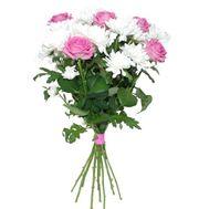 """""""Небольшой букет"""" в интернет-магазине цветов roza.zp.ua"""