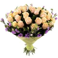 """""""Chic bouquet with eustoma"""" in the online flower shop roza.zp.ua"""