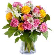 """Яркий букет микс"" в интернет-магазине цветов roza.zp.ua"
