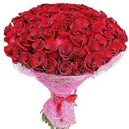 101 red imported rose - flowers and bouquets on roza.zp.ua