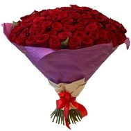 101 red roses with delivery - flowers and bouquets on roza.zp.ua