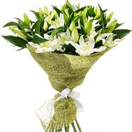 """Bouquet of 15 lilies"" in the online flower shop roza.zp.ua"