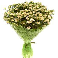 Изящный букет кустовых роз - цветы и букеты на roza.zp.ua