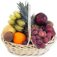 Buy fruit basket in Zaporozhye - flowers and bouquets on roza.zp.ua