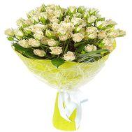 Мелкоцветные розы в букете - цветы и букеты на roza.zp.ua