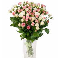 Милый букет из розы спрей - цветы и букеты на roza.zp.ua