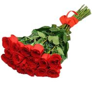 Fashionable bouquet of imported roses - flowers and bouquets on roza.zp.ua