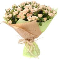 Fashionable bouquet of bush roses - flowers and bouquets on roza.zp.ua
