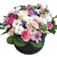 Нежная композиция в коробке - цветы и букеты на roza.zp.ua