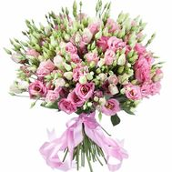 Delicate bouquet of 51 eustoma - flowers and bouquets on roza.zp.ua