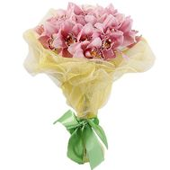 Delicate bouquet of orchids - flowers and bouquets on roza.zp.ua