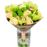 """Original bouquet of orchids"" in the online flower shop roza.zp.ua"