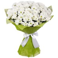 Chamomile chrysanthemums in bouquet - flowers and bouquets on roza.zp.ua