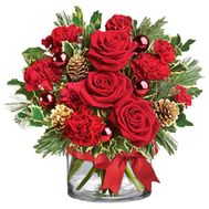 Christmas bouquet - flowers and bouquets on roza.zp.ua