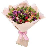 Lovely bouquet of alstroemerias - flowers and bouquets on roza.zp.ua