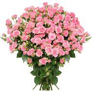Сказочный букет кустовых роз - цветы и букеты на roza.zp.ua