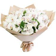 Воздушный букет из орхидей - цветы и букеты на roza.zp.ua