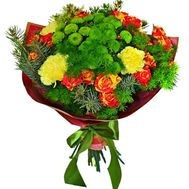 Bright New Year Bouquet - flowers and bouquets on roza.zp.ua