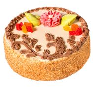 Sponge cake - flowers and bouquets on roza.zp.ua
