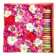 Flowers in the box flower box - flowers and bouquets on roza.zp.ua