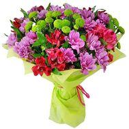 """""""Красочные цветы в букете"""" в интернет-магазине цветов roza.zp.ua"""