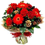 Bouquet for the New Year - flowers and bouquets on roza.zp.ua