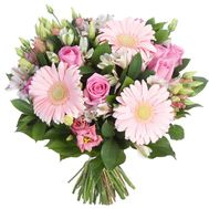 """Beautiful bouquet in soft colors"" in the online flower shop roza.zp.ua"