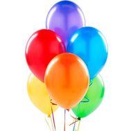7 воздушных шаров - цветы и букеты на roza.zp.ua