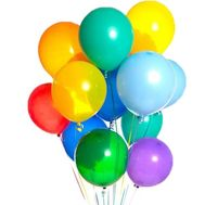 Cloud of 15 balloons - flowers and bouquets on roza.zp.ua