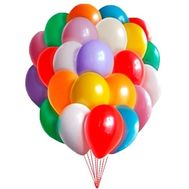25 balloons - flowers and bouquets on roza.zp.ua