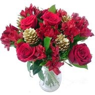Bouquet for Christmas - flowers and bouquets on roza.zp.ua