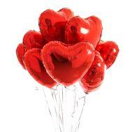 Фольговані кульки-серця - цветы и букеты на roza.zp.ua