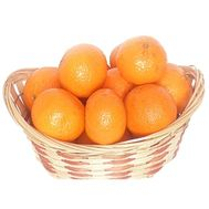 Basket of tangerines - flowers and bouquets on roza.zp.ua