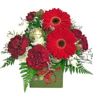 Little New Year composition - flowers and bouquets on roza.zp.ua