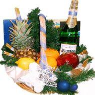 Новогодний подарочный набор - цветы и букеты на roza.zp.ua