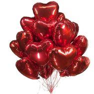 Облако из фольгированных шаров - цветы и букеты на roza.zp.ua