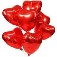 Heart Balloons - flowers and bouquets on roza.zp.ua