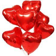 Шары в виде сердца - цветы и букеты на roza.zp.ua