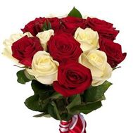 """""""Bouquet of 15 roses"""" in the online flower shop roza.zp.ua"""