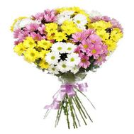 """Bouquet of 11 chrysanthemums"" in the online flower shop roza.zp.ua"